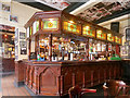 SJ8398 : The Old Nag's Head: Island Bar by David Dixon