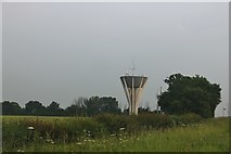 TF0732 : Laughton water tower by David Howard