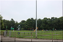 SK9769 : Playground on South Common, Lincoln by David Howard
