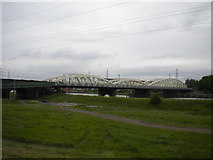 SJ3169 : Hawarden Bridge by Richard Vince