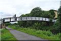 NS5767 : Pedestrian Bridge by Anne Burgess