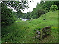 NZ0120 : River Tees viewpoint at Balder Foot by Andrew Curtis