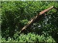 ST7135 : A rusty relic in Folly Lane by Neil Owen