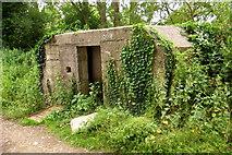 SU2598 : Pillbox near Kelmscott Manor by Tiger