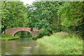 SP1974 : Turnover Bridge by Chessetts Wood near Solihull by Roger  Kidd