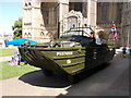 TL1998 : DUKW at Peterborough Cathedral for Armed Forces Day by Paul Bryan