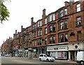 NS5567 : Tenements on Hyndland Road by Alan Murray-Rust