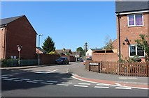 SP9726 : Clifford Close at the junction of Watling Street by David Howard