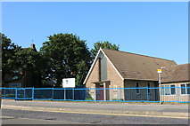 SP8888 : United Reformed Church, Corby by David Howard