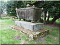 TL1442 : Casket tomb in the churchyard, Southill by Humphrey Bolton