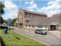 TL6463 : Catholic church, Newmarket by Roger Cornfoot