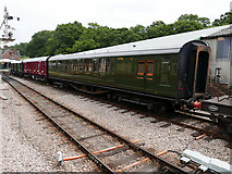 TQ3729 : A Maunsell carriage at Horsted Keynes by John Lucas