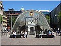 NS5864 : St Enoch Subway entrance by Philip Halling