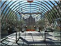 NS5865 : St Enoch Subway entrance by Philip Halling