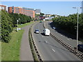 NS5566 : A814 Clyde Expressway, Glasgow by Rudi Winter
