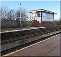 SJ2961 : Penyffordd Signalbox, Flintshire by Jaggery