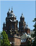 NS5666 : The towers of Kelvingrove Museum by Alan Murray-Rust