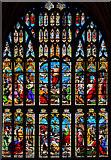 TG2308 : West Window, Norwich Cathedral by Julian P Guffogg