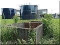 SK4744 : Newthorpe sewage treatment works by Christine Johnstone