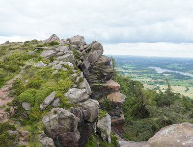 SK0062 : Natural outcrops at the Roaches by Malcolm Neal