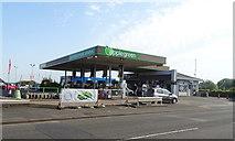 SK4641 : Service station on Derby Road, Ilkeston by JThomas