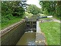 SP1870 : Dick's Lane Lock near Turner's Green, Warwickshire by Roger  Kidd