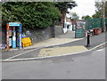 ST5871 : Colouful phonebox on a Bedminster corner, Bristol by Jaggery