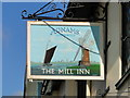 TM4656 : Sign of The Mill Inn, Aldeburgh (1) by Adrian S Pye
