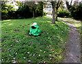 SO0328 : Frog litter bin, Llanfaes, Brecon by Jaggery