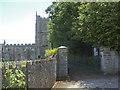 ST7253 : Entrance to St Mary's, Hemington by Neil Owen