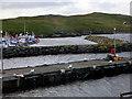 HU3635 : Hamnavoe Harbour by David Dixon