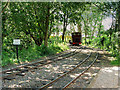 SD4423 : West Lancashire Light Railway, Run Round Loop at Delph by David Dixon