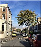 TQ3370 : North on Woodland Road, Upper Norwood, south London by Robin Stott