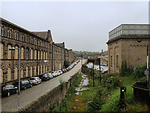 SE0641 : Keighley, Low Mill Lane by David Dixon