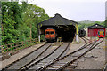 SE0335 : KWVR Engine Sheds at Oxenhope by David Dixon