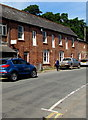 SO1122 : Edwardian brick building in Talybont-on-Usk by Jaggery