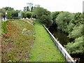 SJ8990 : River Goyt from Park Bridge. by Gerald England
