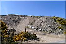 NC8862 : Gravel workings near Kirkton by Tim Heaton