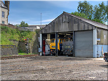 SD8010 : East Lancashire Railway Diesel Shed at Castlecroft by David Dixon