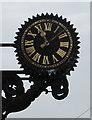 SY5997 : Victorian clock, Church Road, Maiden Newton by Jaggery
