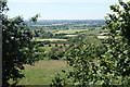 ST9773 : View from Wick Hill by Des Blenkinsopp