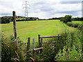 SJ9796 : Farmland at Matley by Stephen Burton