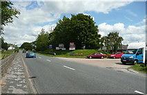 SE2546 : Entrance to Riffa Business Park, Castley by Humphrey Bolton