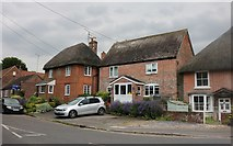 SU1660 : Cottages on Ball Road, Pewsey by David Howard