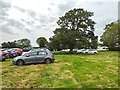 SJ7176 : Car Park at the Royal Cheshire County Show 2019 by Jeff Buck