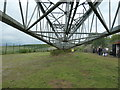 SE3928 : The jib of the walking dragline, at RSPB St Aidan's by Christine Johnstone