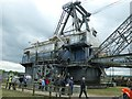 SE3928 : Bucyrus Erie 1150B at RSPB St Aidan's by Christine Johnstone