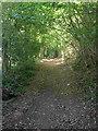 SU7512 : Back Lane by Hugh Craddock