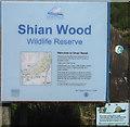 NM9041 : Shian Wood Wildlife Reserve by M J Richardson