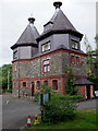 SO0660 : Former pump house, Llandrindod Wells by Andrew Hill